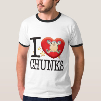 Chunks Love Man Shirts