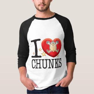 Chunks Love Man Tee Shirt