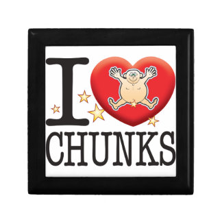 Chunks Love Man Trinket Boxes