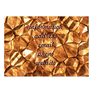 Chunks of Gold Nuggets Background Business Card Template