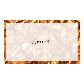 Chunks of Gold Nuggets Background Business Card