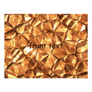 Chunks of Gold Nuggets Background Custom Invite