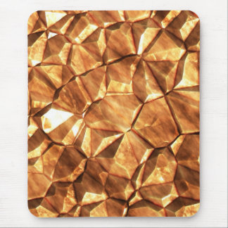 Chunks of Gold Nuggets Background Mouse Pad