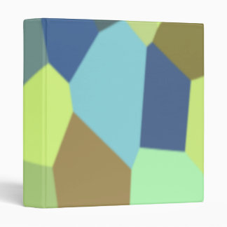 Chunky Blocks in Light Colors Binder