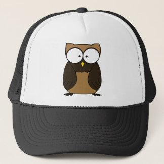 Chunky Brown Owl Trucker Hat