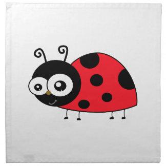 Chunky Cute Ladybug Ladybird Coccinellidae Cloth Napkin