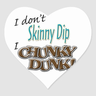 Chunky Dunk Heart Sticker
