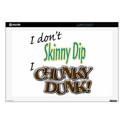 "Chunky Dunk Skins For 17"" Laptops"