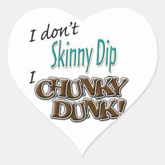 Chunky Dunk Heart Sticker