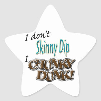 Chunky Dunk Stickers