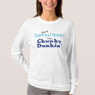 Chunky Dunkin' Ladies Long Sleeve T-Shirt