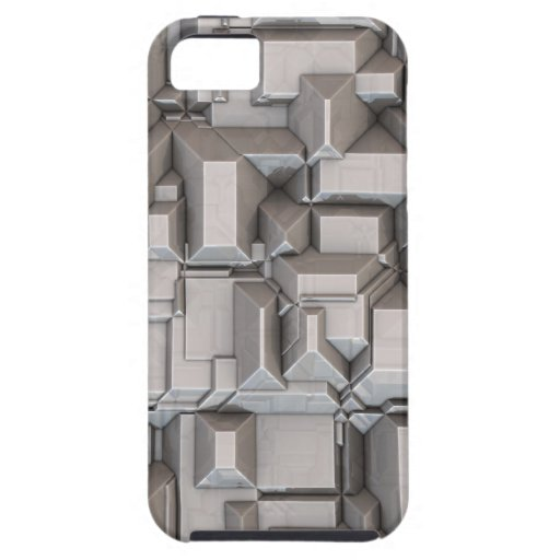 Chunky Heavy Metal Cubes iPhone 5 Cases