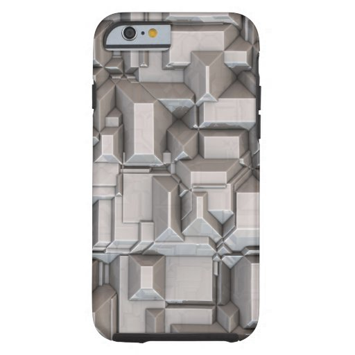 Chunky Heavy Metal Cubes iPhone 6 Case