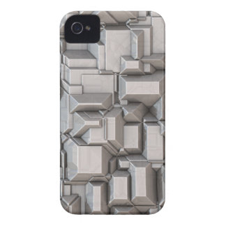 Chunky Heavy Metal Cubes Case-Mate iPhone 4 Case