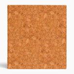 Chunky Natural Cork Wood Grain Look Binder