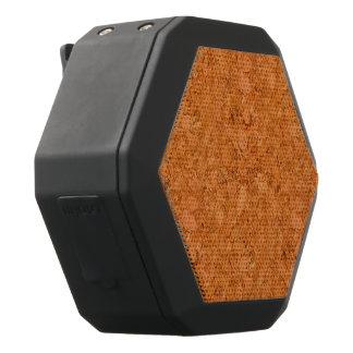 Chunky Natural Cork Wood Grain Look Black Bluetooth Speaker