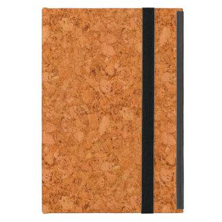 Chunky Natural Cork Wood Grain Look Cover For iPad Mini