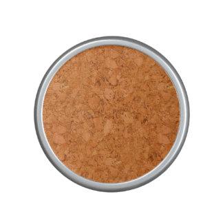 Chunky Natural Cork Wood Grain Look Speaker