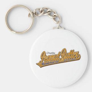 Chunky Peanut Butter Keychain