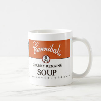 CHUNKY REMAINS $12.95 CLASSIC WHITE COFFEE MUG