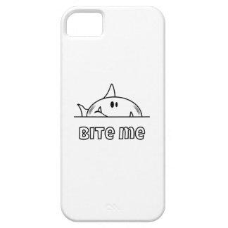 Chunky Shark Bite Me iPhone SE/5/5s Case