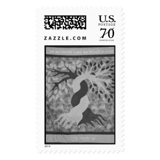 Chupa black and white postage