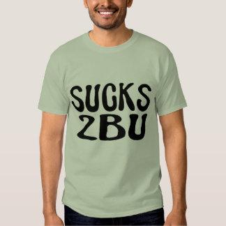 Chupa la camiseta de 2 B U Remeras