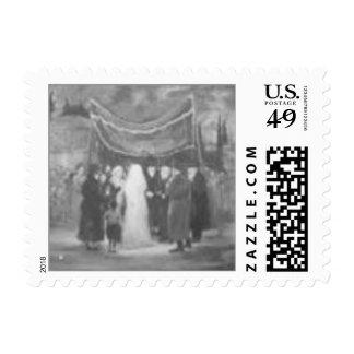 Chupa wedding postage stamps
