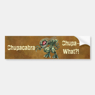 Chupa-What? Car Bumper Sticker