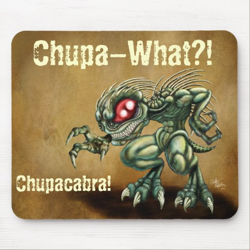 Chupa-What? Mouse Pads