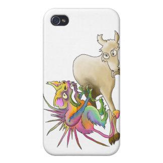 Chupacabra (Cabra-lechón) iPhone 4 Funda