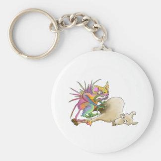 Chupacabra (Cabra-lechón) Llavero Personalizado