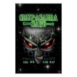 Chupacabra Cafe 23X35 poster
