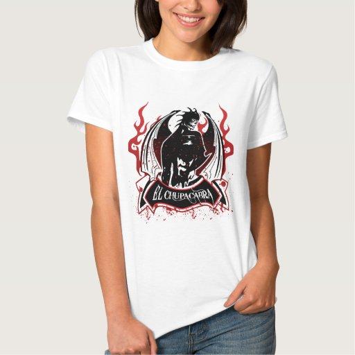 Chupacabra del EL - el lechón de la cabra T Shirts