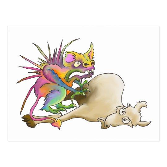 Chupacabra (Goat-sucker) Postcard