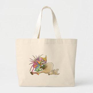 Chupacabra (Goat-sucker) Tote Bags