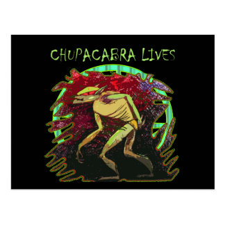 Chupacabra Lives Postcard