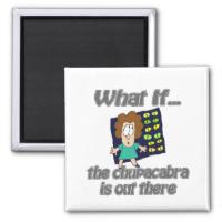 chupacabra refrigerator magnet