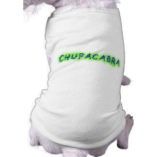 Chupacabra Text Pet Tee Shirt
