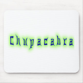 Chupacabra Text Mouse Pad