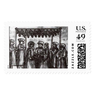 Chupah stamp black