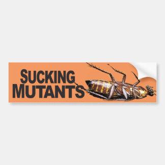 Chupando los mutantes - pegatina para el pegatina para auto