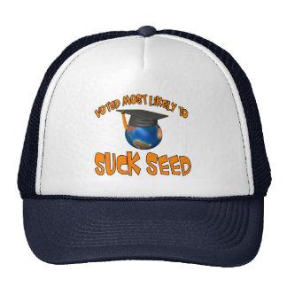 Chupe la semilla gorras