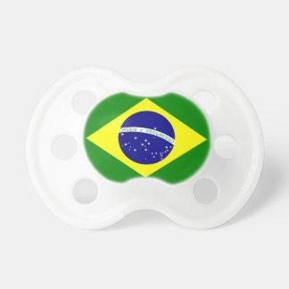 Chupeta Flag of BRAZIL Pacifier