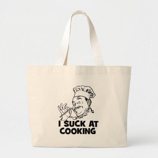 Chupo en cocinar bolsa tela grande