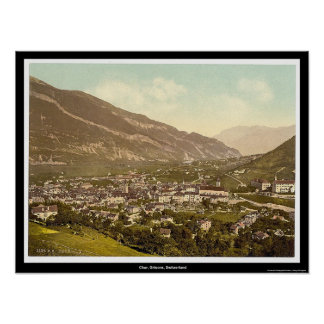 Chur, Grisons, Switzerland Poster