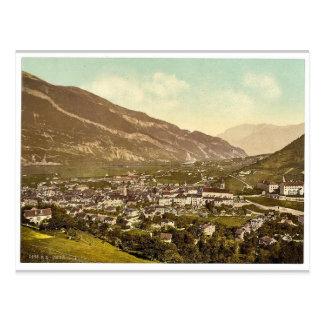 Chur, Grisons, Switzerland vintage Photochrom Postcard