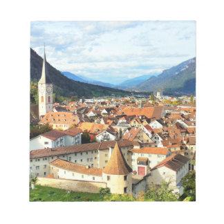 Chur, Switzerland Notepad