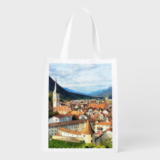 Chur, Switzerland Reusable Grocery Bag