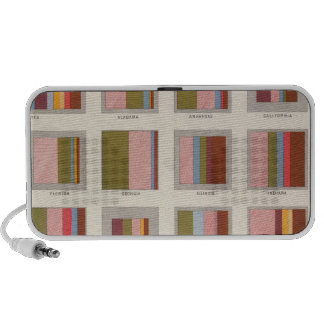 Church Accommodation Statistical US Lithograph Portable Speakers